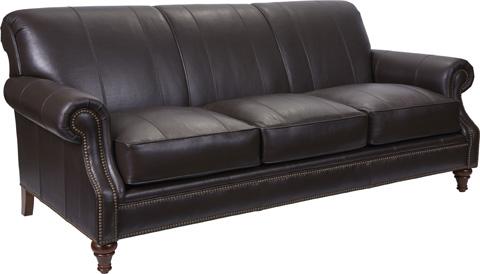 Broyhill Furniture - Windsor Leather Sofa - L4250-3