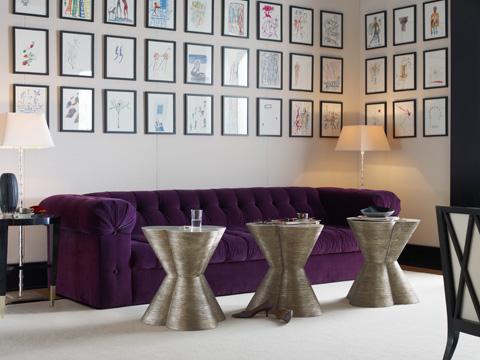 Baker Furniture - St. James Extended Length Tufted Sofa - 6140SE