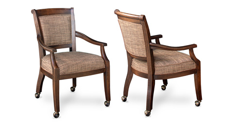 California House - Arm Chair with Casters - C2910