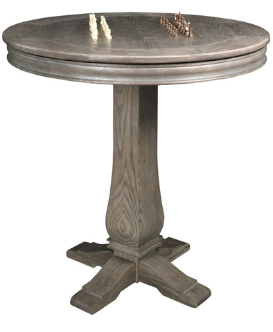 California House - Round Pub Table - T24-RND-HIL-PB