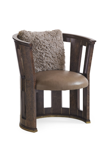 Caracole - Burl-Esque Chair - UPH-CHAWOO-76A