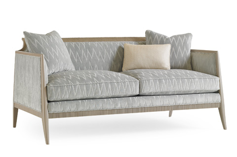 Caracole - What's Not To Love? Loveseat - UPH-LOVWOO-03A