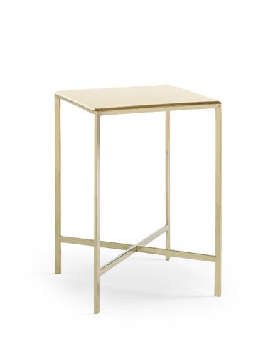 Caracole - Gold Bullion Accent Table - CON-ACCTAB-025
