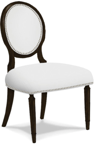 Caracole - Chit Chat Leather Side Chair - TRA-SIDCHA-L06