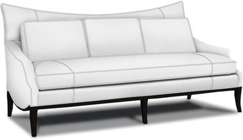 Caracole - White Noise Sofa - UPH-SOFWOO-30
