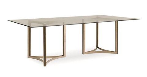 Caracole - In The Clear Dining Table - ATS-DINTAB-004