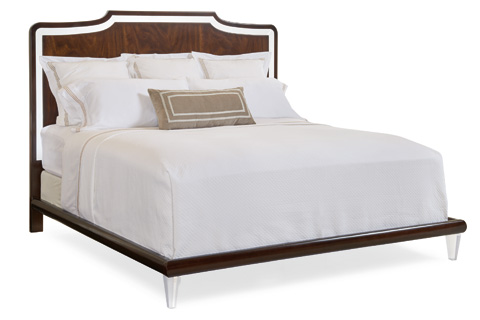 Caracole - Clear Frame of Mind King Bed - TRA-KINBED-020