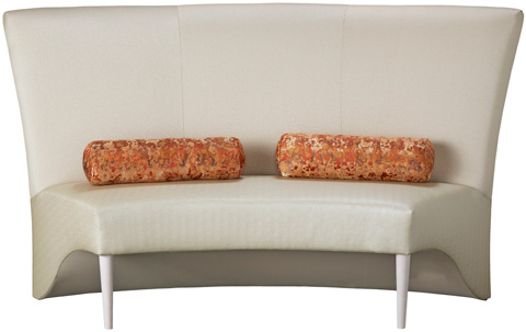 Carter Furniture - Pia Armless Banquette - 470-94