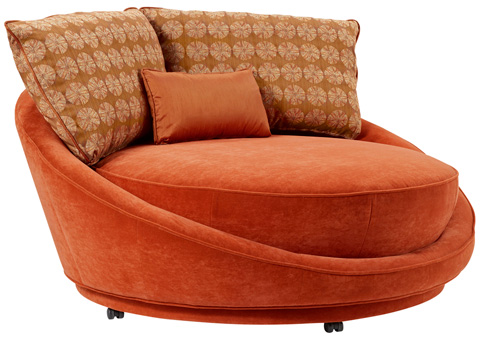 Carter Furniture - My Pod Round Lounge Chair - 490