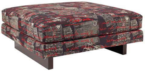 Carter Furniture - Parker Ottoman - 510-4