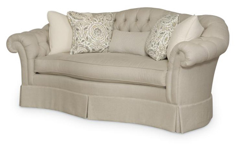 Century Furniture - Montego Camel Back Tufted Sofa - LTD7292-2