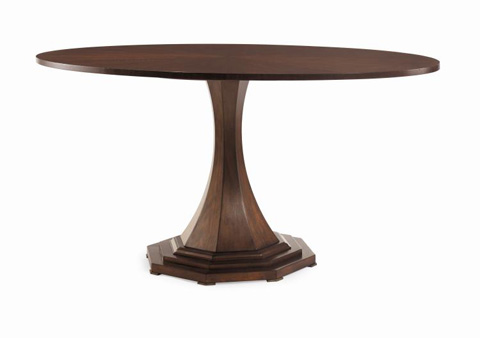 Century Furniture - Maire Louise Oval Dining Table - 599-307