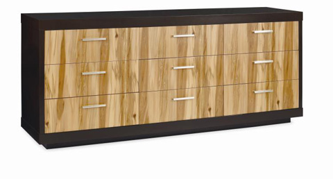 Century Furniture - Eight Drawer Dresser with Drop Front - 849-207