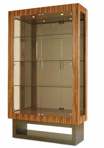 Century Furniture - Mirrored Back China Display Cabinet - 849-425