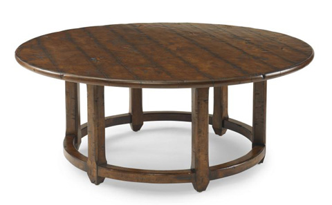 Century Furniture - Grist Mill Round Cocktail Table - T29-602