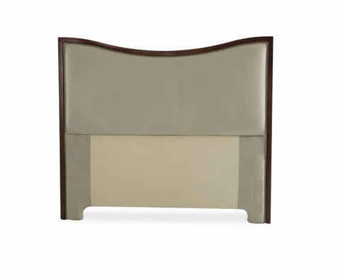 Century Furniture - Queen Wood Reverse Arch Headboard - 88-010Q
