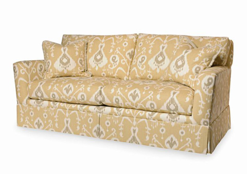 Century Furniture - Davenport Skirted Sofa - ESN233-2SK