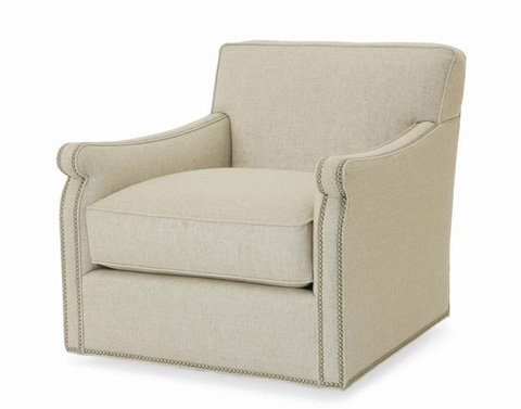 Century Furniture - Fiske Swivel Chair - ESN244-8