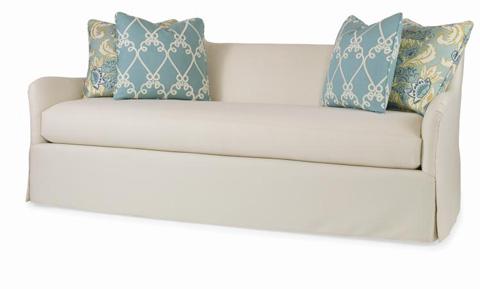 Century Furniture - Garland Skirted Sofa - ESN265-2SK