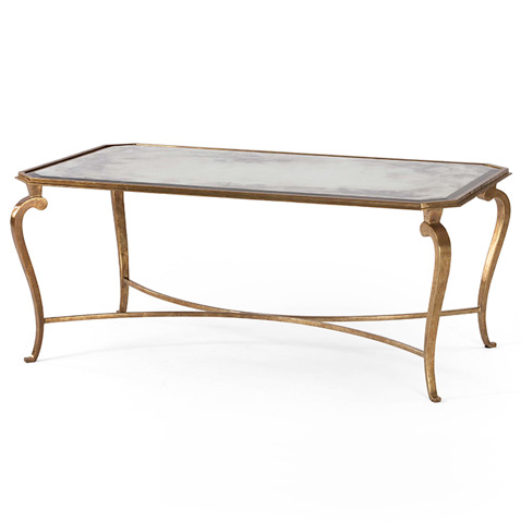 Century Furniture - Mirrored Top Cocktail Table - SF5133