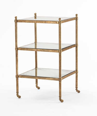 Century Furniture - Three Tiered Chairside Table - SF5157