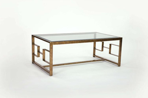 Century Furniture - Glass Top Cocktail Table - SF5250