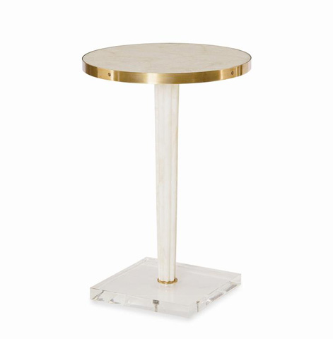 Century Furniture - Round Top Side Table - SF5487