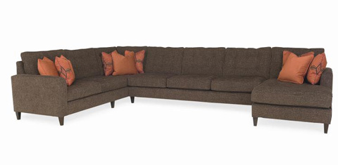 Century Furniture - Marc Four Piece Sectional - ESN173-SECT