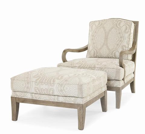 Century Furniture - Callaway Ottoman - 3182O