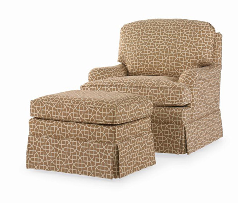 Century Furniture - Dover Swivel Chair - ESN108-8