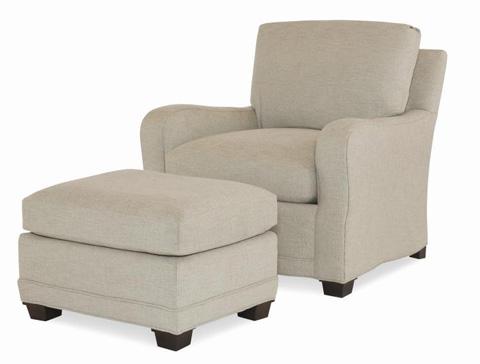 Century Furniture - Witt Ottoman - ESN260-12