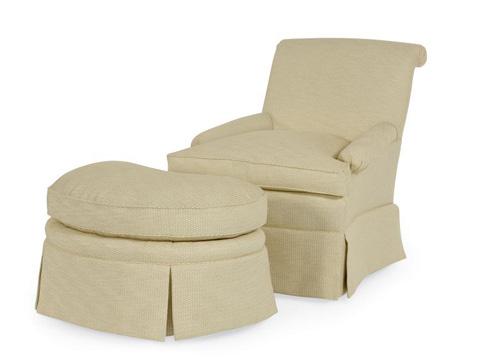 Century Furniture - Fayetteville Ottoman - I2-33-1023
