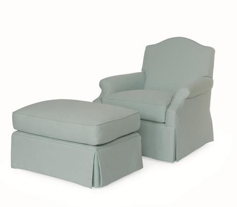 Century Furniture - Mobile Ottoman - I2-33-1026