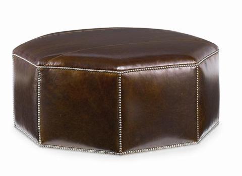 Century Furniture - Cole Leather Ottoman - LR-38247