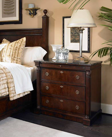 Century Furniture - Nightstand with Marble Top - 309-223M
