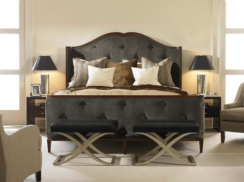 Century Furniture - King Bed - 559-166