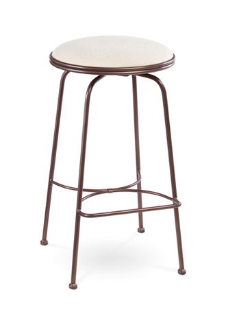 Charleston Forge - Providence Backless Swivel Counterstool - C806