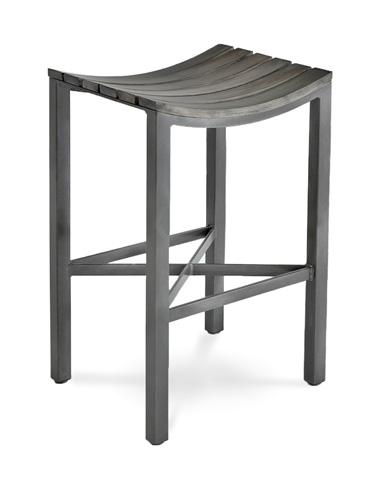 Charleston Forge - Parsons Wood Seat Barstool - C981