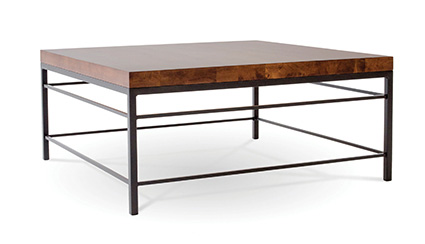 Charleston Forge - Newhart Square Cocktail Table - 5420