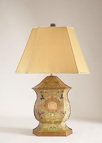 Chelsea House - Ellington Urn Lamp in Green - 68137