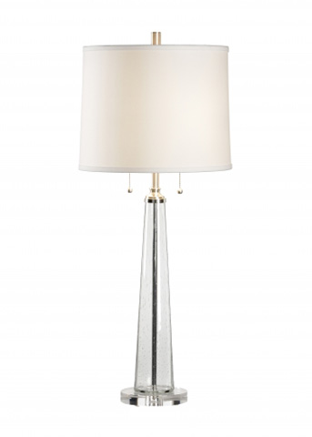 Chelsea House - Bubble Glass Column Lamp - 68528