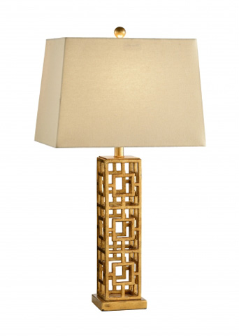 Chelsea House - Squares in Squares Lamp - 68559