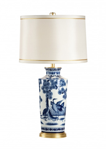 Chelsea House - Crane Urn Lamp - 68697