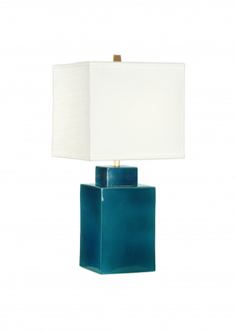 Chelsea House - Kowloon Square Blue Lamp - 68702