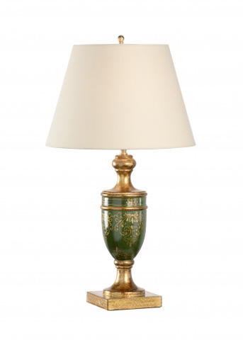 Chelsea House - Florence Lamp in Green - 68718