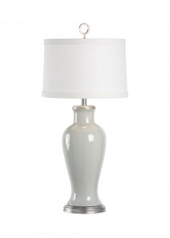 Chelsea House - Grey Vase Lamp - 68725