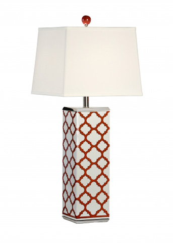 Chelsea House - Galloway Lamp in Red - 68766