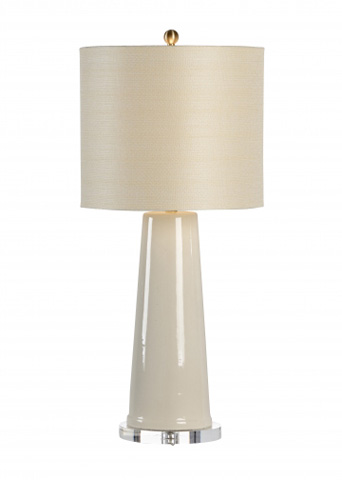 Chelsea House - Broome Vase Lamp in Cream - 68774