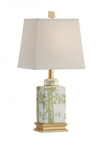 Chelsea House - Bamboo Tea Jar Lamp - 68789
