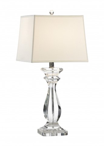 Chelsea House - Orlando Crystal Lamp - 68805